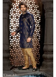Wedding Heavy Indo Western Sherwani